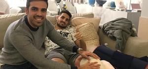 Sivasspor'da Hugo Vieria'nın tedavisi sürüyor