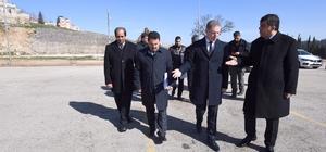 Vali Gül ile Fadıloğlu mahallelerde incelemelerde bulundu