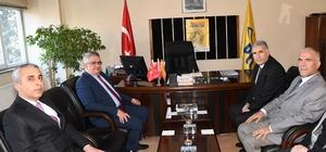 Vali Aykut Pekmez'den kurum çalışmalarını yerinde inceliyor