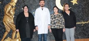 Almanya'dan Denizli'ye obezite yolculuğu 3 kız kardeş obezite tedavisi için Almanya'dan Denizli'ye geldi