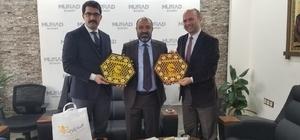 Demirözü İlçe Kaymakamı ve Tarım İl Müdüründen MÜSİAD Bayburt'a ziyaret