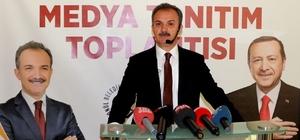 """Süleyman Kılınç projelerini açıkladı AK Parti Adıyaman Belediyesi Başkan Adayı Süleyman Kılınç: """"Ulaşılabilen, erişilebilen, denetlenebilen bir 'dost şehir' oluşturacağız"""""""