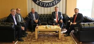 Muammer Özer'den Rektör Gören'e nezaket ziyareti