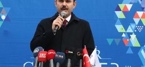 """Bakan Kurum'dan konut müjdesi """"81 ilde konut dönüşümünü başlatıyoruz"""" Çevre ve Şehircilik Bakanı Murat Kurum:"""