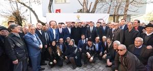 Başkan Altay ve İl Başkanı Angı, Hüyük ve Derebucak'ta