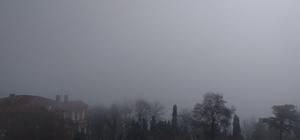 Marmara Denizi'nde yoğun sis Deniz sis örtüsüyle kayboldu