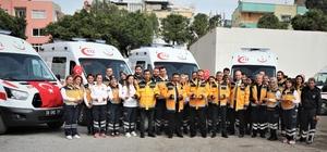 Mersin'e 4 yeni ambulans Sağlık Bakanlığı tarafından Mersin İl Sağlık Müdürlüğüne gönderilen 4 adet ambulans, düzenlenen törenle hizmete girdi