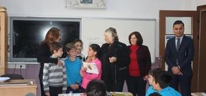 İlçe Milli Eğitim Müdürü Aldoğan'dan  Ada'ya sürpriz ziyaret