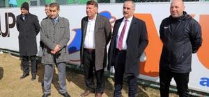 Başkan Aydın'dan, Sivas Belediyespor'a ziyaret
