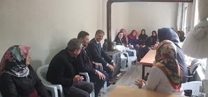 Kursiyerlerden Başkan Alemdar'a teşekkür