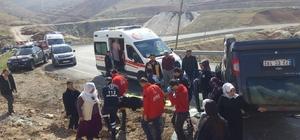 Siirt'te otomobil takla attı: 5 yaralı
