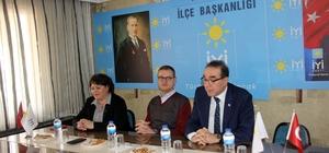 """Levent Tellioğlu; """"1 Nisan sabahı Karesi'ye bahar gelecek"""" CHP Karesi'den İYİ Parti'ye ziyaret İttifak ortakları bir araya geldi"""
