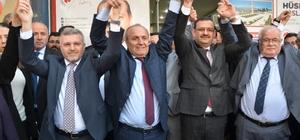 Başkan Arslan, Taşköprü'de seçim bürosu açtı