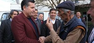 Başkan Kocadon, Yatağan Bencik'i ziyaret etti