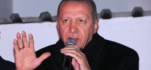 """Cumhurbaşkanı Erdoğan: """"Bay Kemal bizim kuyruklarımız yokluk değil, varlık kuyrukları"""" """"CHP demek çöp demektir, çukur demektir, çamur demektir, yokluk demektir, yasaklar demektir"""""""
