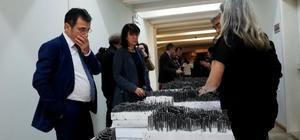 Mimarlık öğrencileri 'Konstrüktif Mekânlar' Sergisi Muğla Sıtkı Koçman Üniversitesi Mimarlık Fakültesi öğrencileri ilk sergilerini açtı.