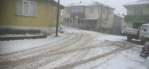 Balıkesir'de kar yağışı Şehrin yüksek yerleri beyaza büründü