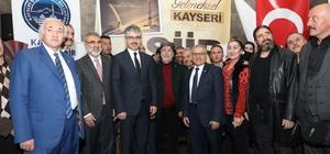 """Memduh Başkan Bozok Derneği şiir akşamlarına katıldı Memduh Büyükkılıç: """"Kültürel değerlerimizi ön plana çıkartacağı"""""""