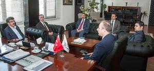 Vali Bilmez'den İlbank A.Ş. Van Bölge Müdürlüğüne ziyaret