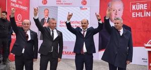 """MHP Kastamonu'da belediye başkan ve meclis üyeleri tanıtıldı MHP İl Başkanı Yüksel Aydın: """"Biz hizmet için varız. Biz bu millete karşılıksız hizmet ediyoruz"""""""