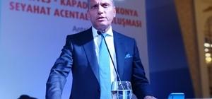 """TÜRSAB Başkanı Bağlıkaya: """"Yeni yasa ile seyahat acentesi belgeleri değerlenecek"""""""