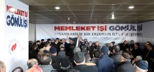 """Başkan Sekmen: """"Erzurum'un geleceği için çok büyük projelerimiz var"""""""