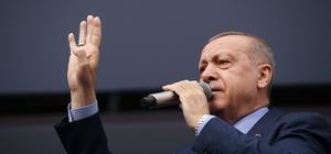 """Cumhurbaşkanı Erdoğan: """"Bay Kemal 'Oylarımızı Kürdistan'da HDP'ye vereceğiz' diyenlerle nasıl beraber yürüyor?"""""""