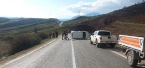 Giresun-Sivas karayolunda trafik kazası: 7 yaralı