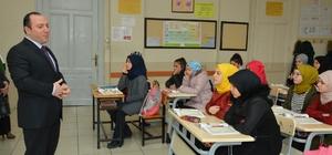 Milli Eğitim Müdürü Yıldız, Gazi İmam Hatip Ortaokulunu ziyaret etti