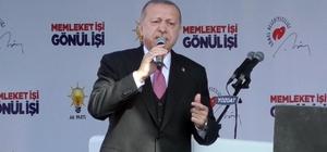 """Yeni kurulacak askeri eğitim birliğinin ilki Yozgat'ta kurulacak (1) Cumhurbaşkanı Recep Tayyip Erdoğan, Yozgatlılara yeni kurulacak askeri eğitim birliklerinden ilkinin Yozgat'a kurulacağı müjdesini verdi Cumhurbaşkanı Recep Tayyip Erdoğan: """"Güya başı CHP çekiyor. Ama kumanda Kandil'deki hainlerin elinde, Pensilvanya'daki hainin elinde"""""""