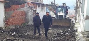 Hekimzade Mahallesi'nde yollar yenileniyor