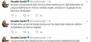 """Canikli'den """"Rabia Naz"""" açıklaması"""