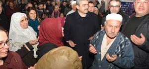 Başkan Alıcık 86 kişilik kafileyi kutsal topraklara uğurladı