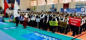 Erzurum'da halk oyunları müsabakaları düzenlendi