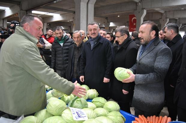 İzmit'te pazarcılara yük olmadan 50 milyon TL'lik yatırım yapıldı