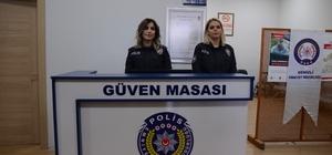 Şikayetler artık polise yüz yüze görüşerek iletilebilecek Güven Masası uygulaması Denizli'de başladı Denizli'de 12 polis merkezinde Güven Masası hizmete başladı