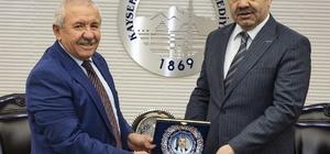 Başkan Çelik'e KAYFOR teşekkürü