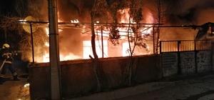 Suriyeli aile kaldıkları evde güne alevlerle uyandı Elektrik kontağından çıkan yangında alevler tüm evi sardı Denizli'de çıkan ev yangınında 80 bin TL'lik maddi hasar meydana geldi