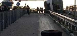 Uludağ'da öğrencileri taşıyan otobüs devrildi: 25 yaralı