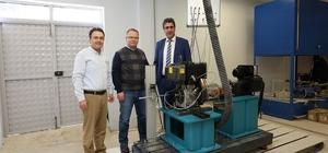 PAÜ'de Motor Test Laboratuarı kuruldu Laboratuar elektrikli ve hibrit taşıt çalışmalarına ivme kazandıracak