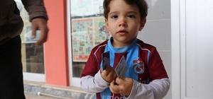 İki  yaşındaki Tayyip,  Cumhurbaşkanını görmek istiyor