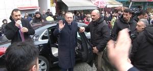 Cumhurbaşkanı Erdoğan, Rize'den ayrıldı