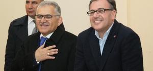 Büyükşehir ve Hacılar Belediye Başkan Adayları vatandaşlarla buluştu