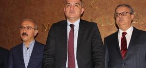 """Bakan Ersoy: """"İlk uçak piste indiğinde turizm için ana kapılardan biri Mersin'de açılmış olacak"""" """"Mersin için 2023'e kadar orta ve 2023'ten sonrası uzun vadeli bir eylem planı oluşturacağız"""""""