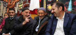 Sivas'ta 'Köy Odası Sohbetleri' devam ediyor