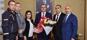 Vali Su, Deprem Haftasında AFAD Müdürü Ersoy'u kabul etti