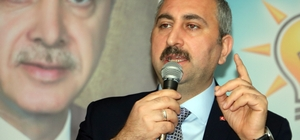 """Bakan Gül: """"FETÖ'nün şişirdiği, ipini Kandil'e verdiği bu balonu 31 Mart'ta Sarıkaya patlatacak"""""""