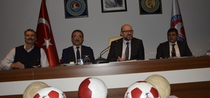 MAKÜ öncülüğünde bir proje daha Türkiye'nin futbol topları MAKÜ'de üretilecek