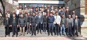 Akseki'de uyuşturucu ile mücadele ve seçim güvenliği toplantısı yapıldı