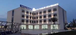 Misafirhaneye Cumhurbaşkanı Erdoğan'ın annesinin adı verildi